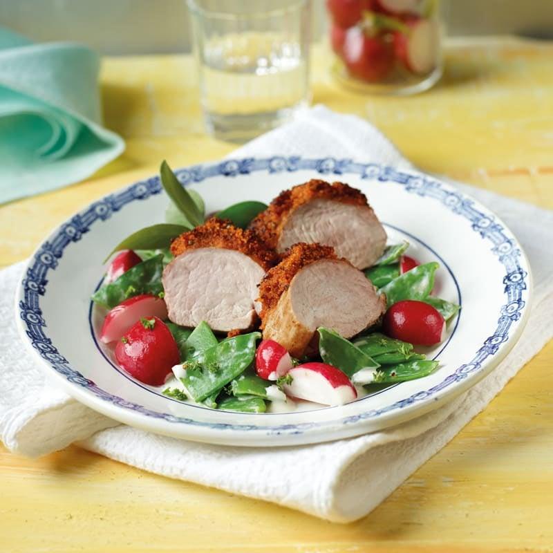 Photo de Filet de porc aux fines herbes prise par WW