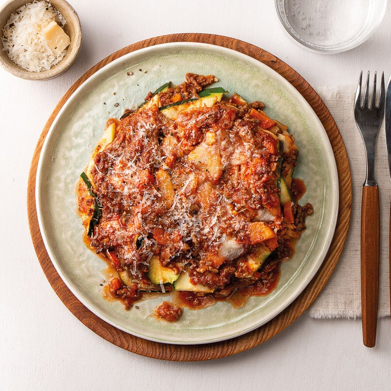 Photo de Lasagne aux courgettes avec racine de persil et Grana Padano prise par WW