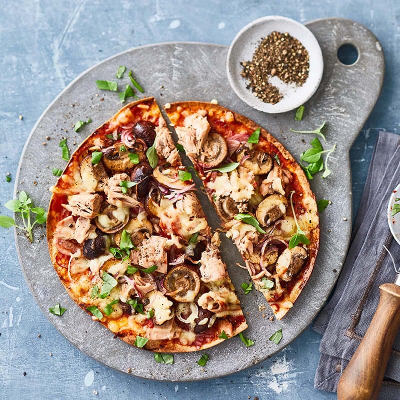 Photo de Pizza éclair au thon prise par WW