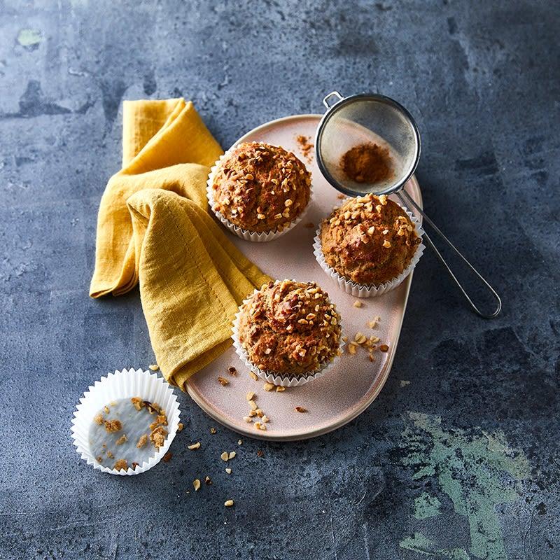 Photo de Muffins à la banane et à la cannelle prise par WW