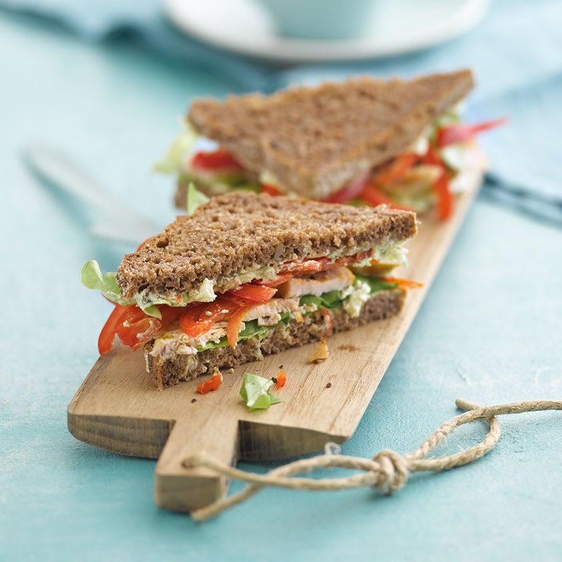 Photo de Sandwich saveurs d'Inde prise par WW
