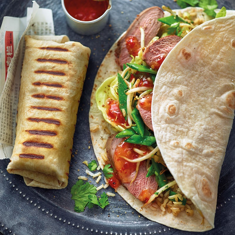 Photo de Burrito asiatique au canard prise par WW