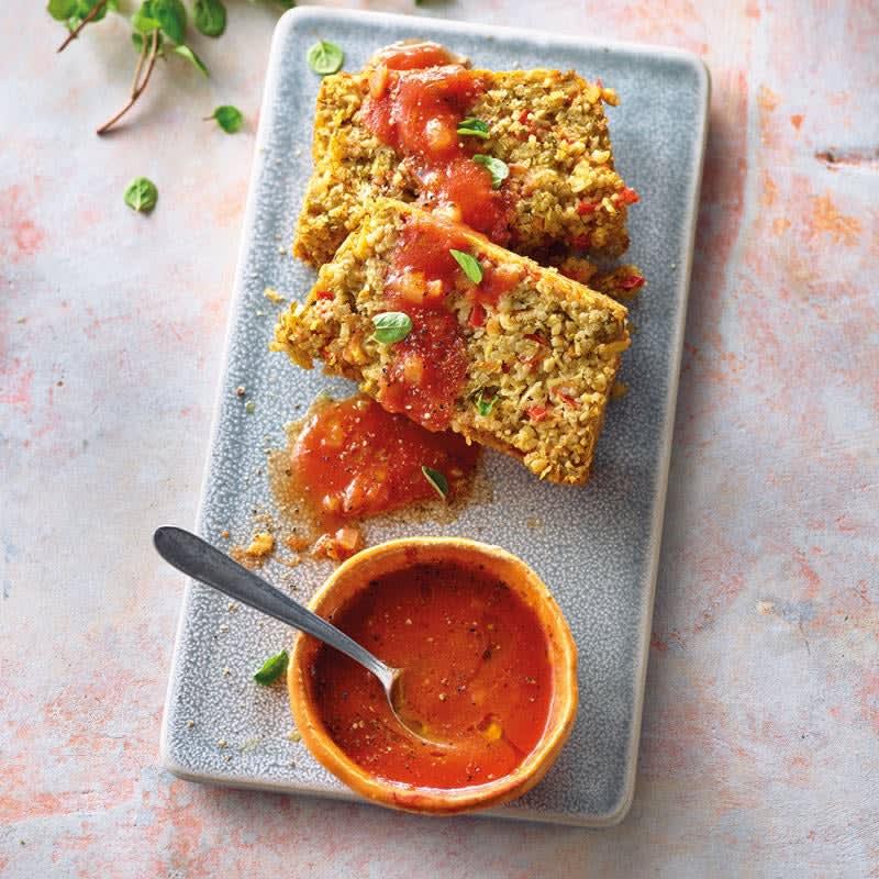 Photo de Rôti de blé vert à la sauce tomate prise par WW