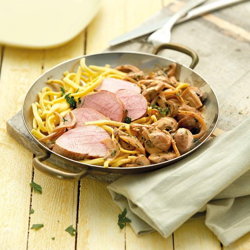 Photo de Filet mignon de porc aux champignons prise par WW