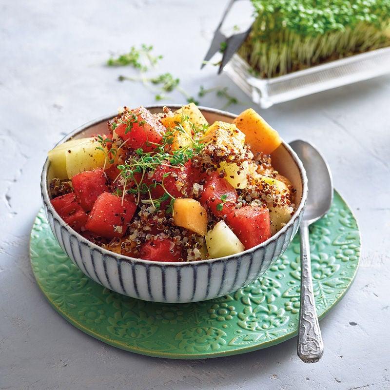 Foto Dreierlei Melonen-Quinoa-Salat von WW