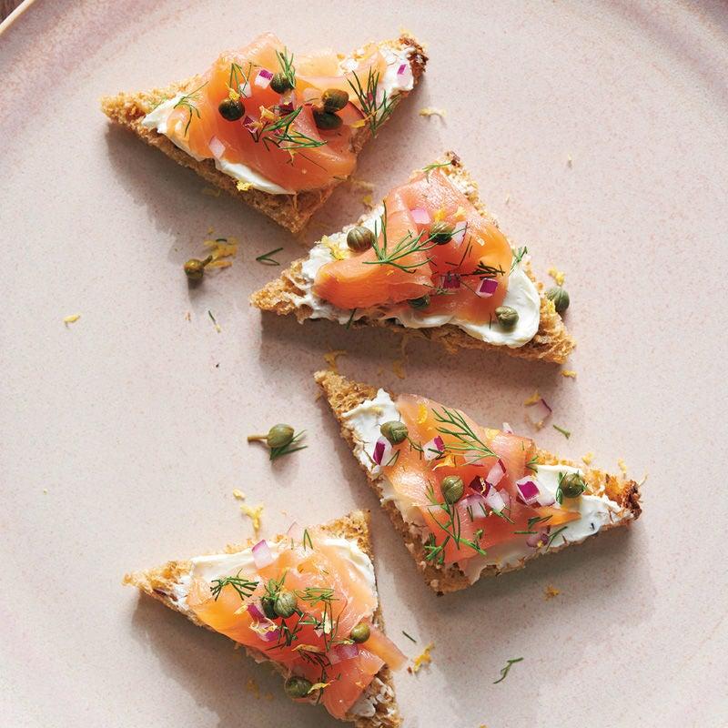 Photo de Bouchées au saumon fumé prise par WW