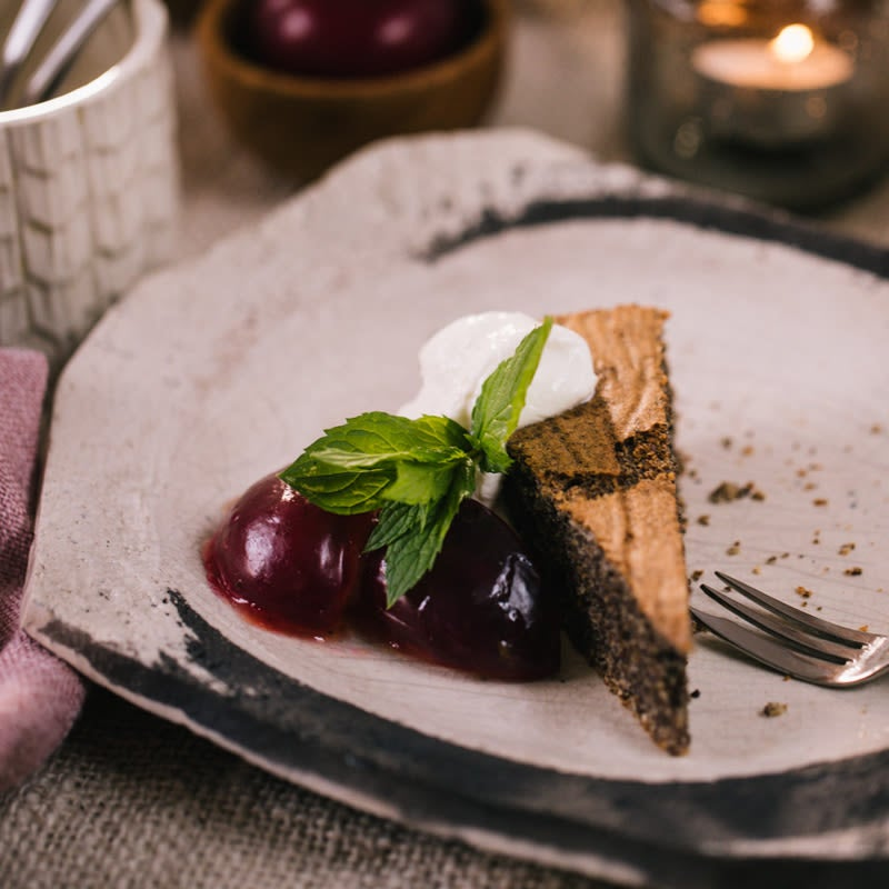 Photo de Gâteau au pavot et aux prunes prise par WW
