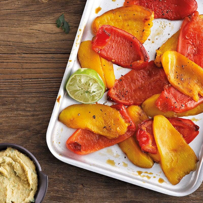 Photo de Carpaccio de poivrons grillés et dip prise par WW