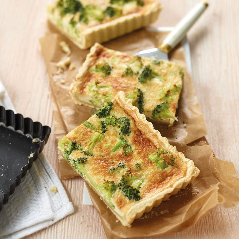 Photo de Quiche au brocoli et au gorgonzola prise par WW