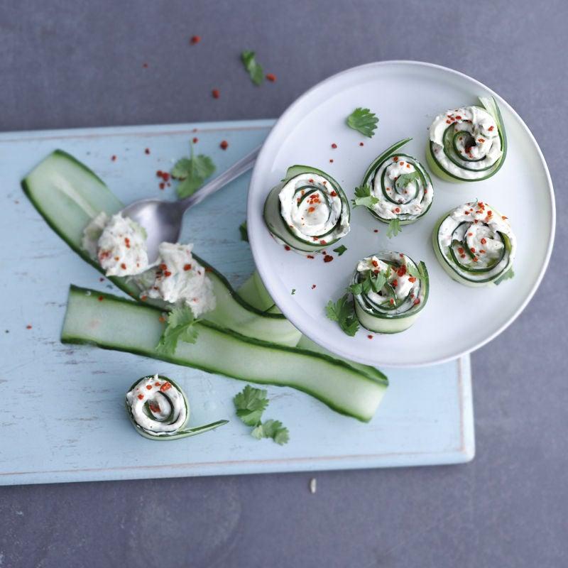 Photo de Roulades de concombre et guacamole prise par WW