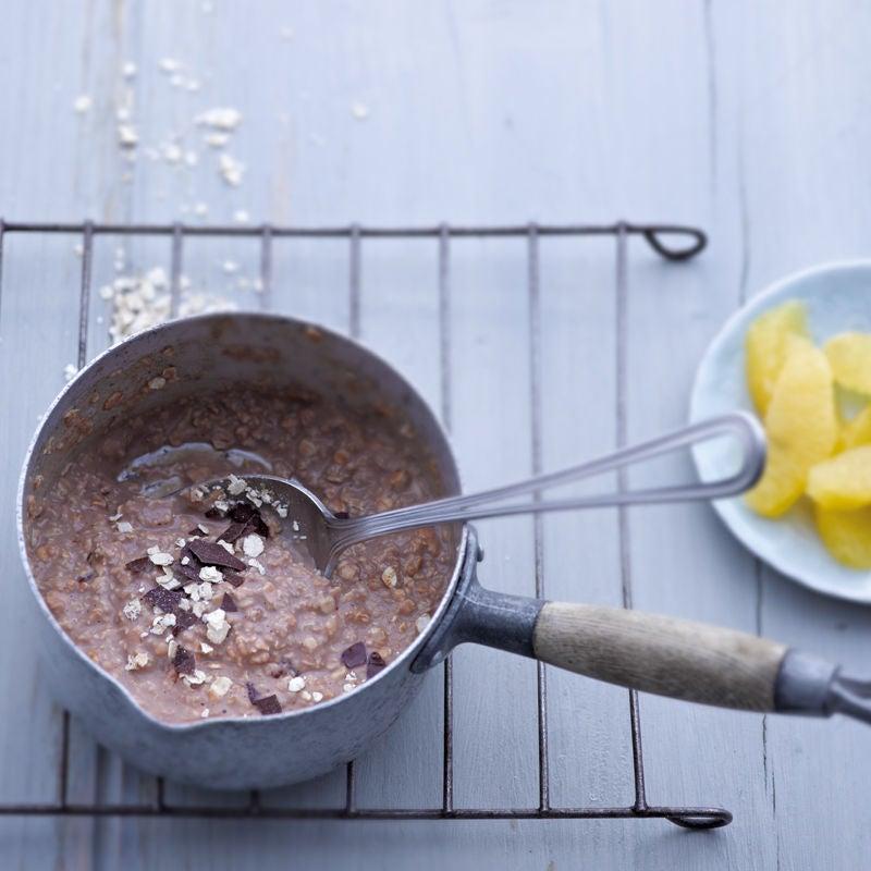 Photo de Porridge au chocolat et à l'orange prise par WW