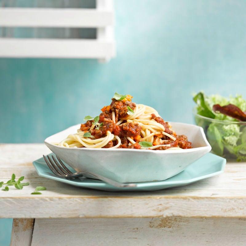 Photo de Spaghettis bolognaise maison prise par WW