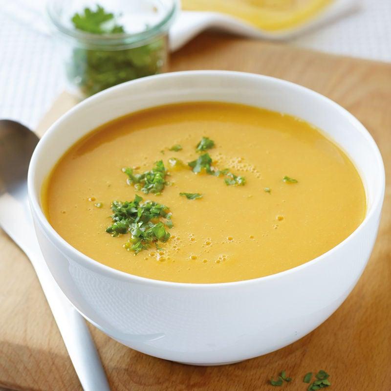 Foto Rote-Linsen-Karotten-Suppe von WW