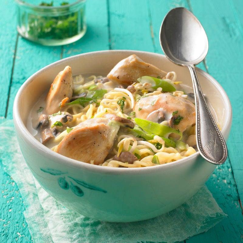 Foto Thai-Suppe mit Poulet von WW