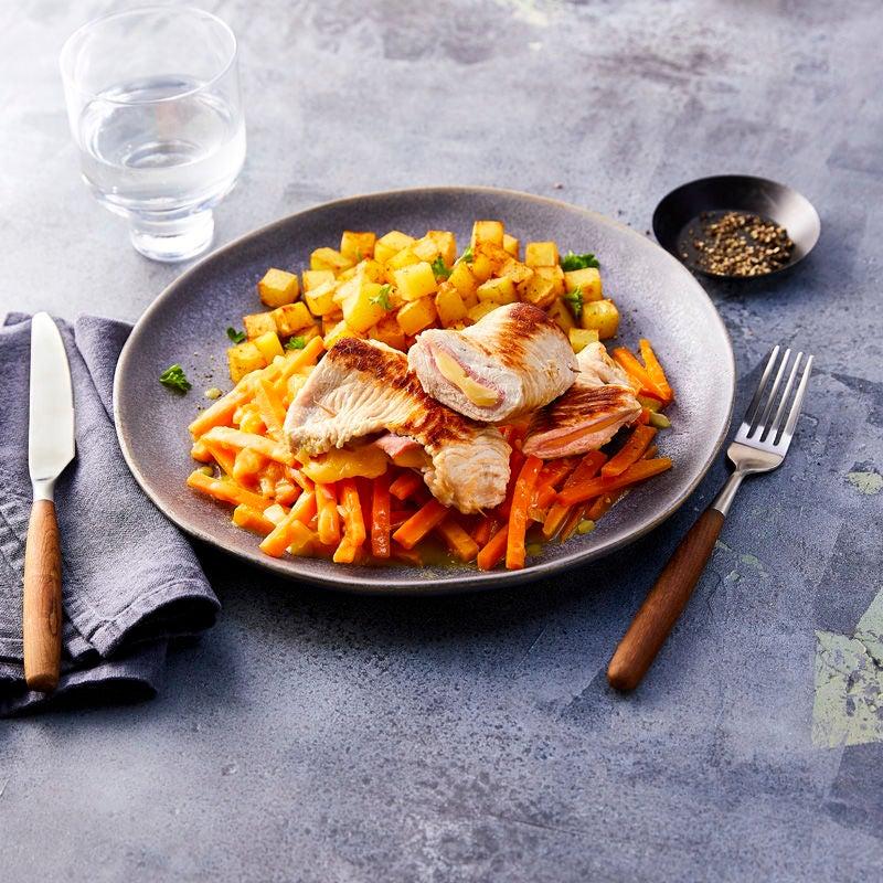 Photo de Cordon bleu aux carottes prise par WW