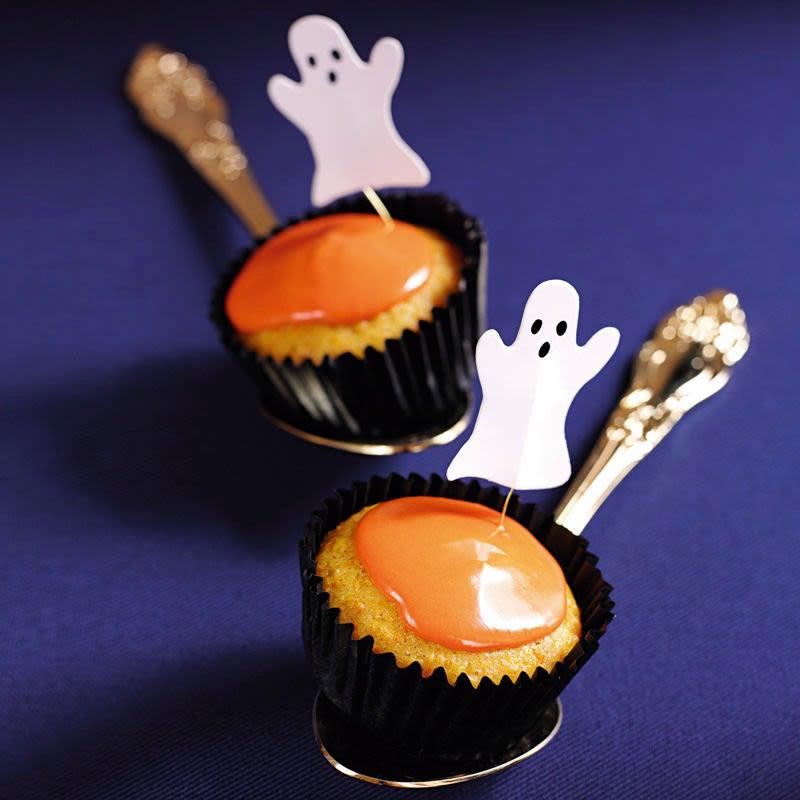 Photo de Muffins d'Halloween prise par WW