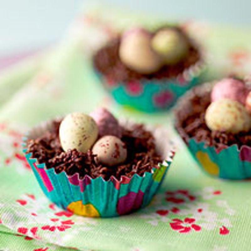 Photo de Nids de Pâques en chocolat prise par WW