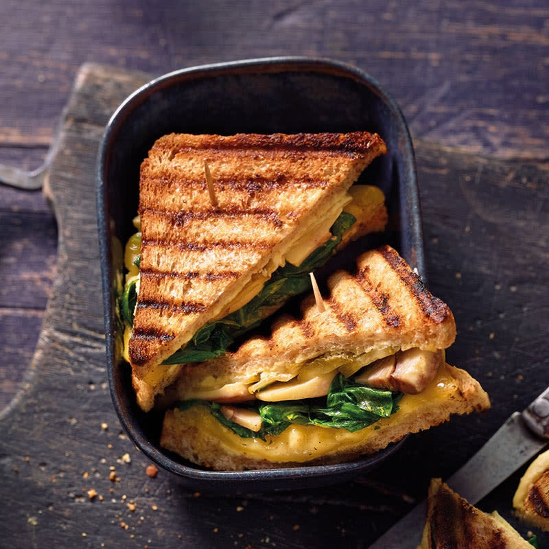 Foto Grilled Cheese Sandwich von WW