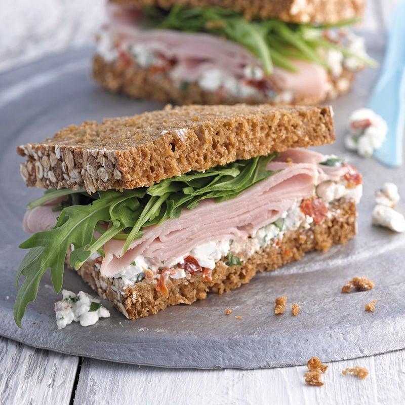 Photo de Sandwich jambon/cottage cheese prise par WW