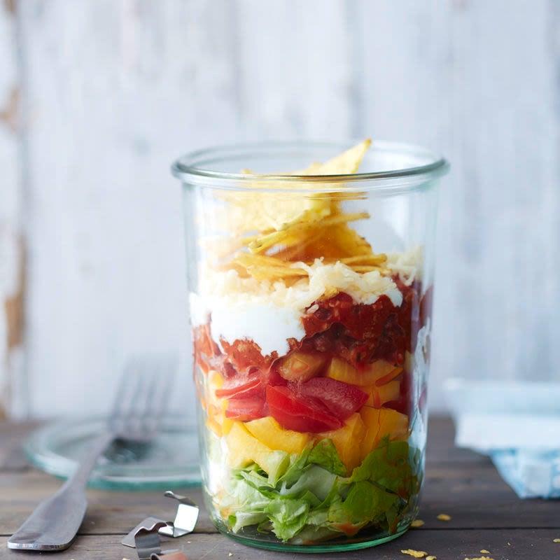 Photo de Salade et tortilla croustillante prise par WW