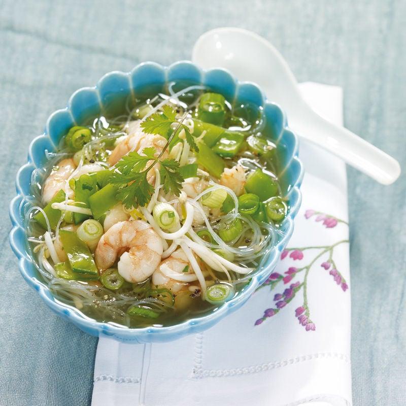 Photo de Soupe de nouilles aux crevettes prise par WW