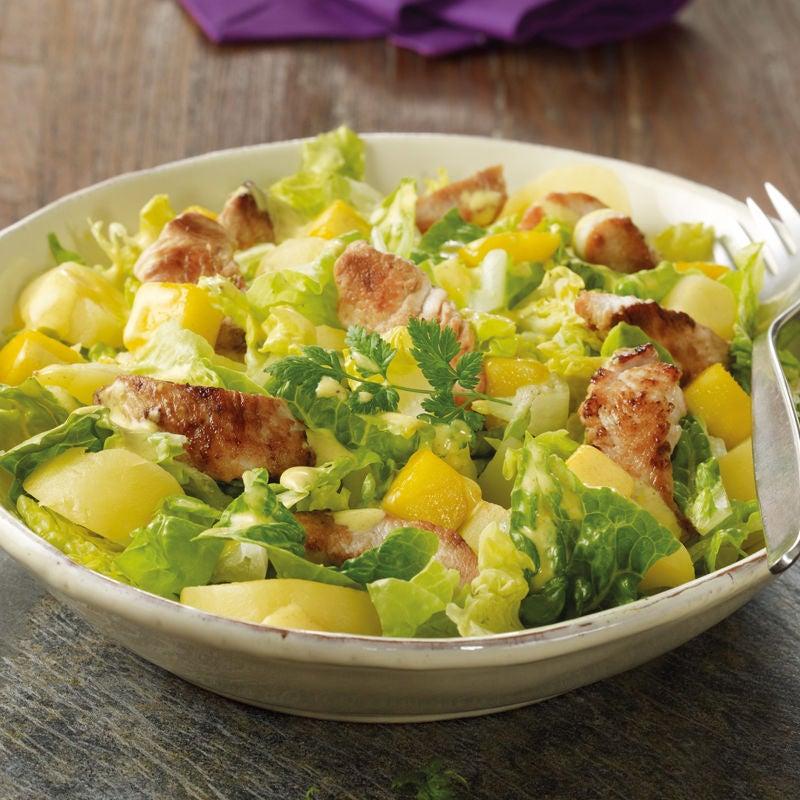 Photo de Salade de pommes de terre exotique prise par WW