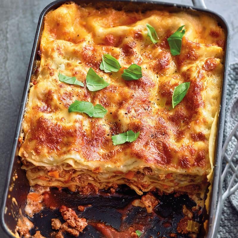 Photo de Lasagne bolognese aux légumes prise par WW