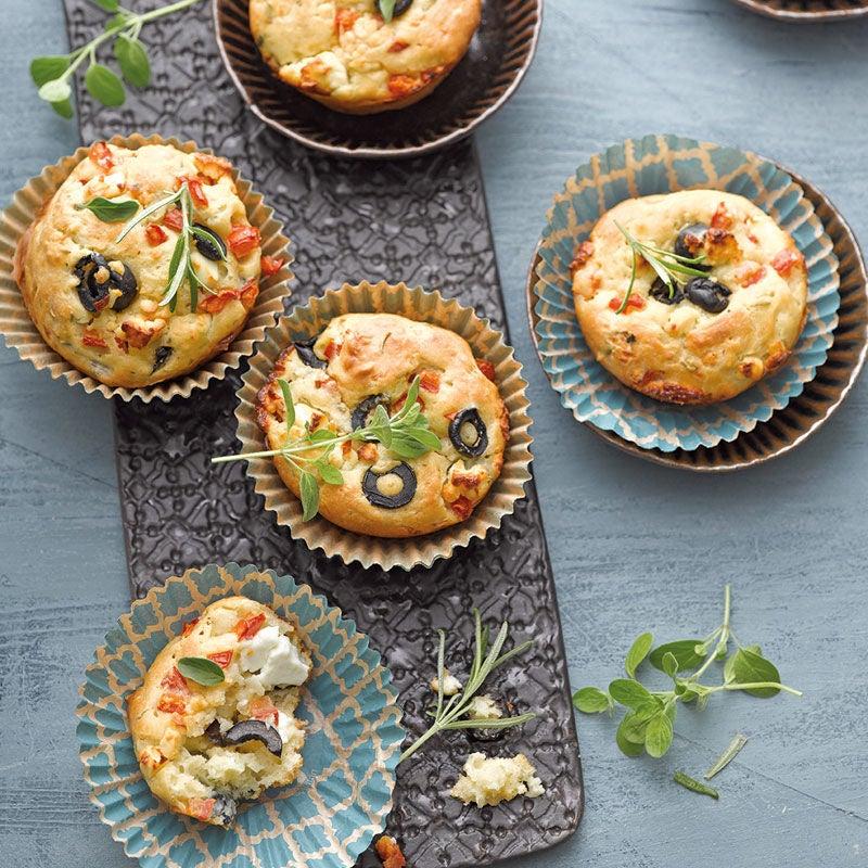 Foto Griechische Muffins mit Feta von WW