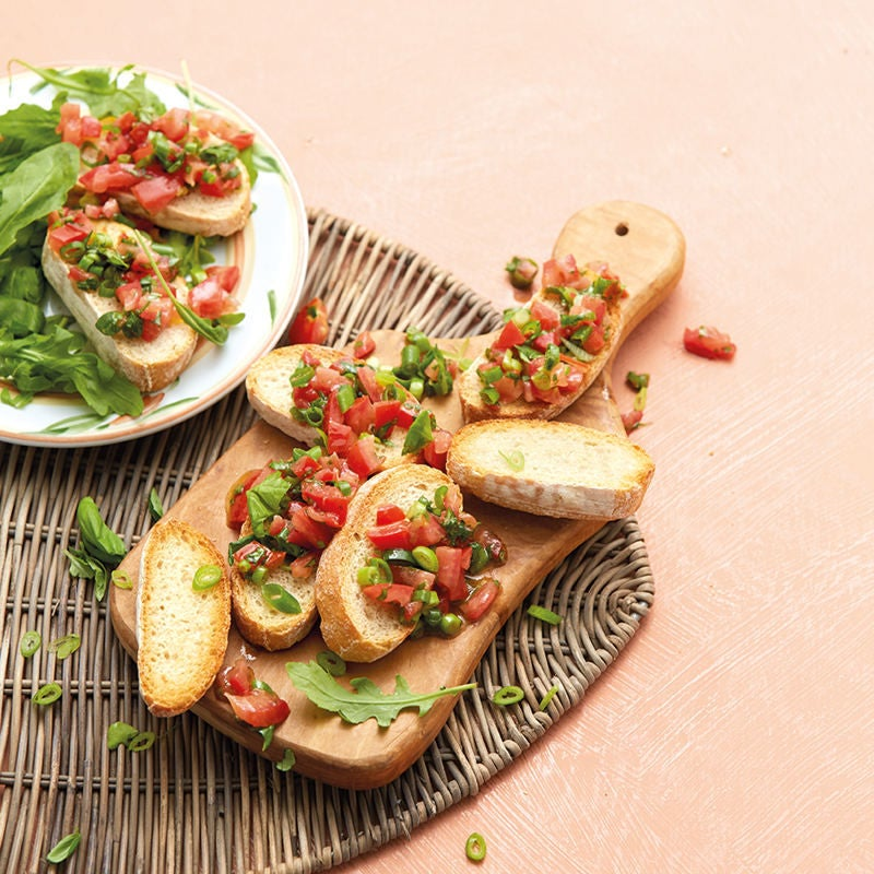 Photo de Bruschetta à la tomate prise par WW
