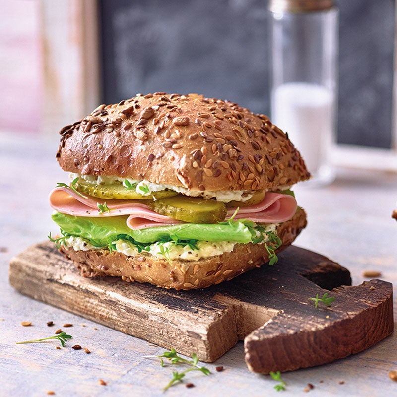 Photo de Pain multigrain au jambon prise par WW