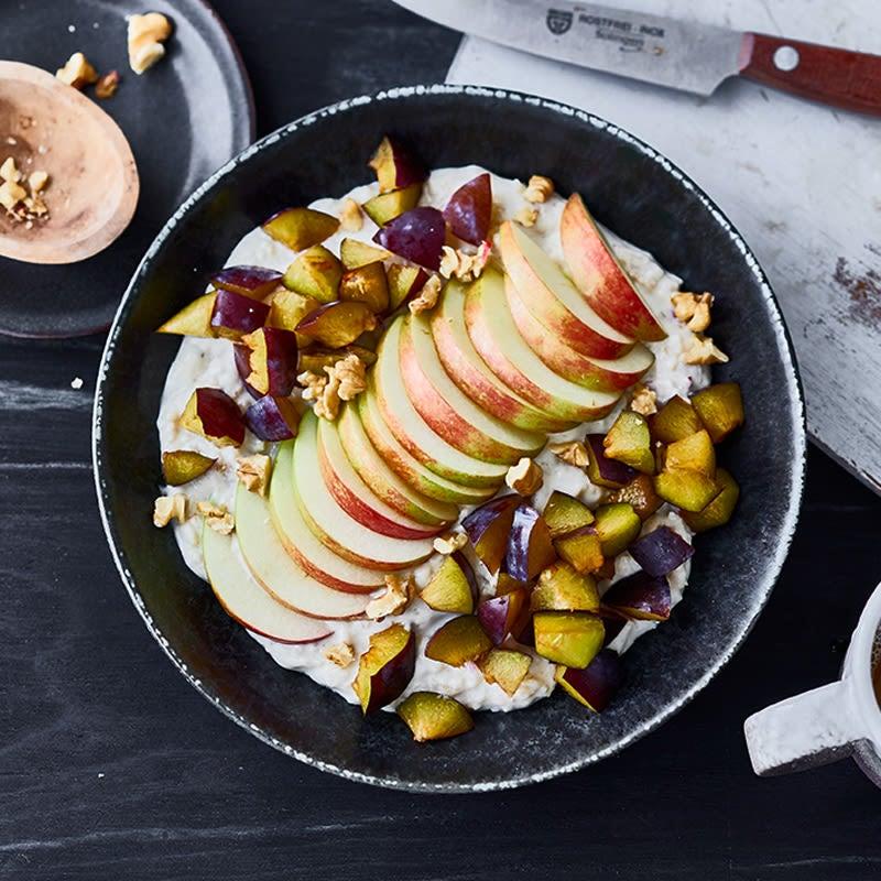 Photo de Porridge aux pommes et aux noix prise par WW