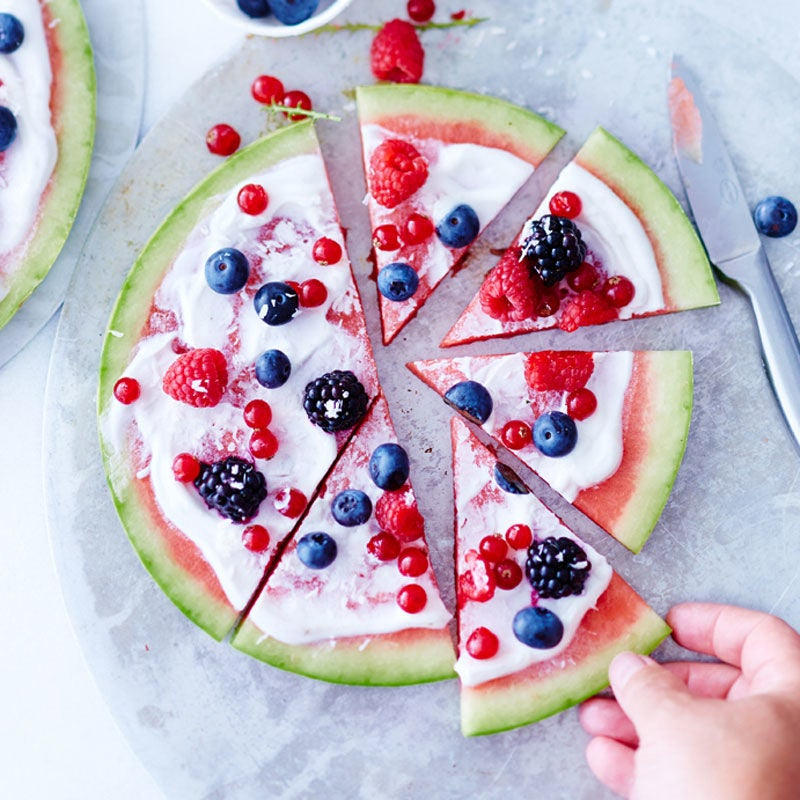 Foto Wassermelonenpizza von WW