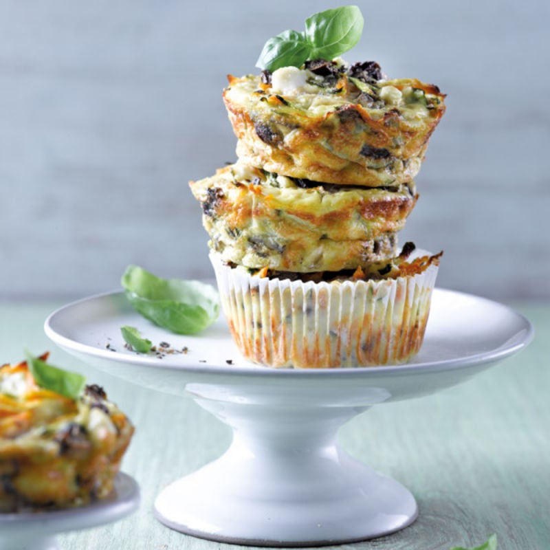 Photo de Muffins aux légumes et à la feta prise par WW