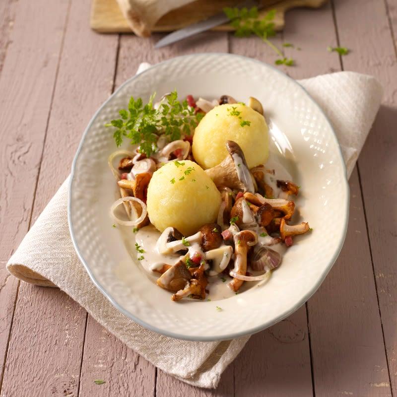 Foto Pilzpfanne mit Kartoffeln von WW