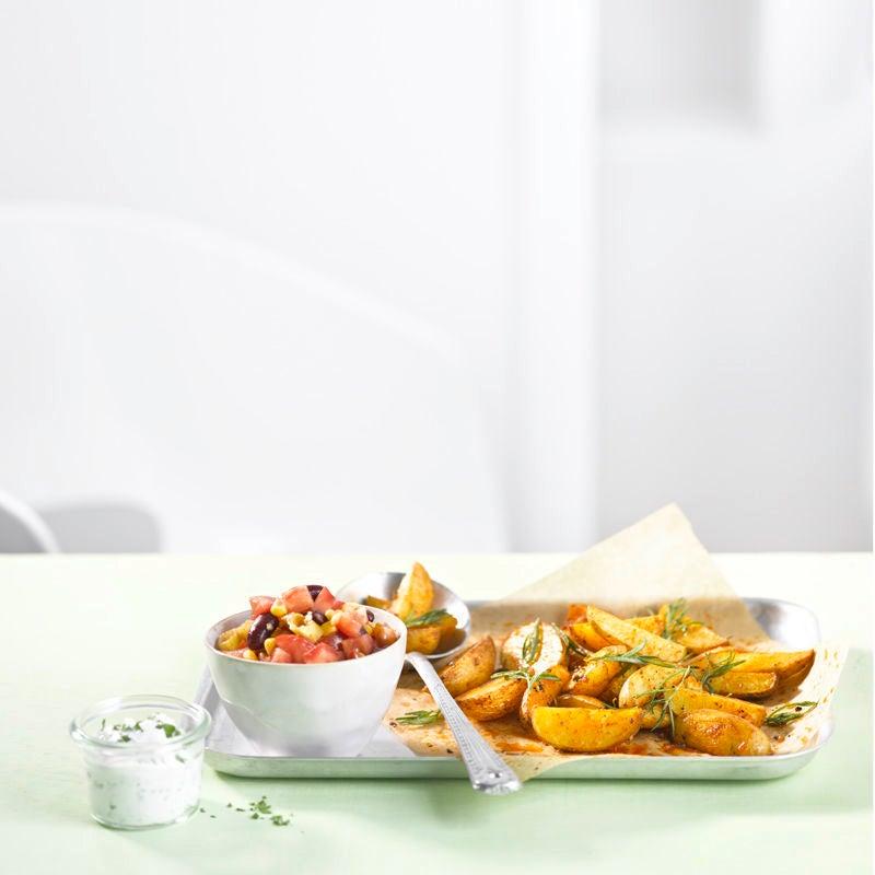 Photo de Pommes de terre au four et salsa prise par WW
