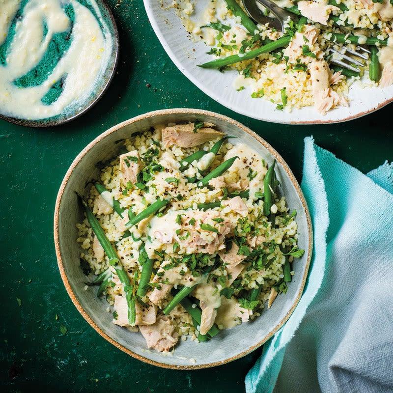 Photo de Salade de boulghour au thon et haricots verts prise par WW