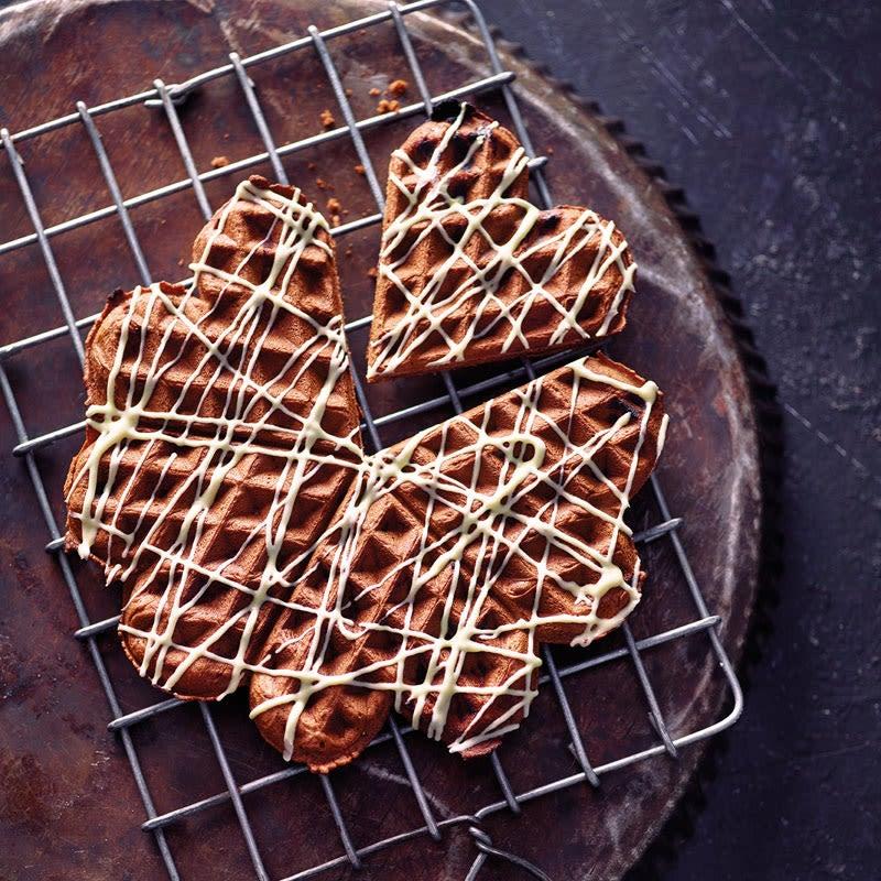 Foto Schokoladenwaffeln von WW