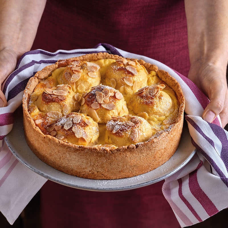Foto Bratapfel-Pudding-Kuchen von WW