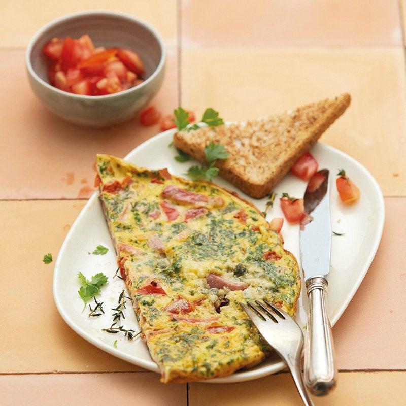 Photo de Omelette au gorgonzola prise par WW