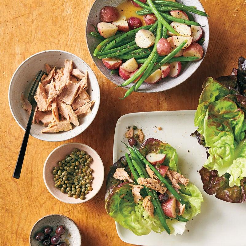 Photo de Salade niçoise au thon prise par WW