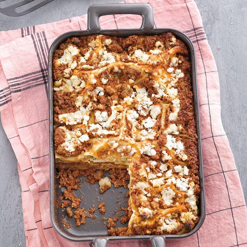 Photo de Lasagnes de courgettes à la viande hachée prise par WW