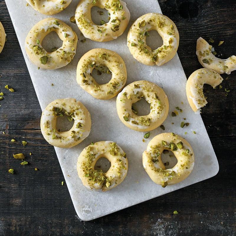 Photo de Anneaux au citron et à la pistache prise par WW