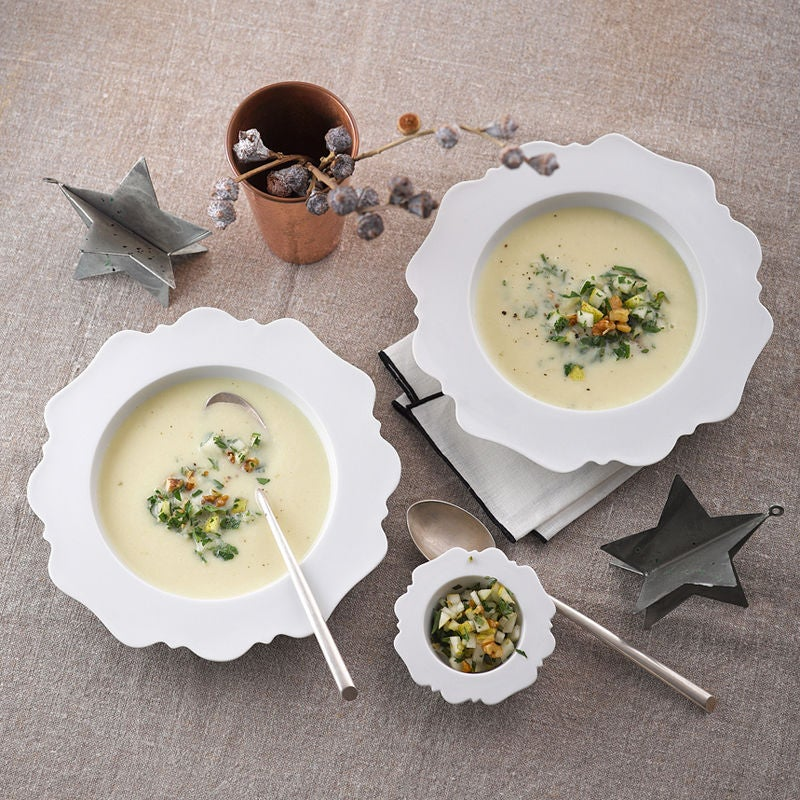 Photo de Soupe de chou-rave aux poires et noix prise par WW