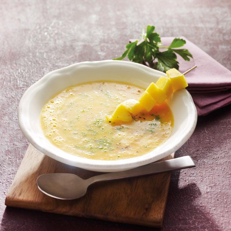Photo de Soupe de carottes et mangue prise par WW
