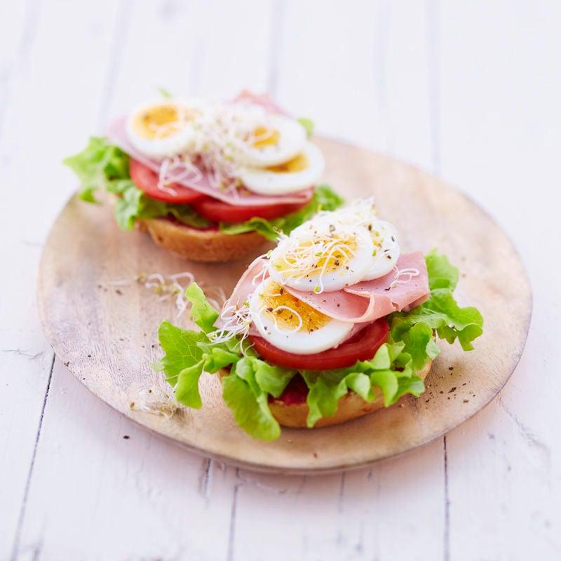 Foto Brötli mit Ei und Schinken von WW