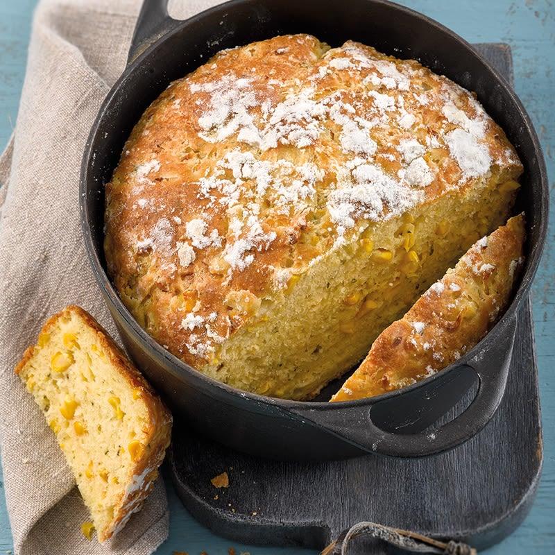 Foto Mais-Käse-Brot von WW
