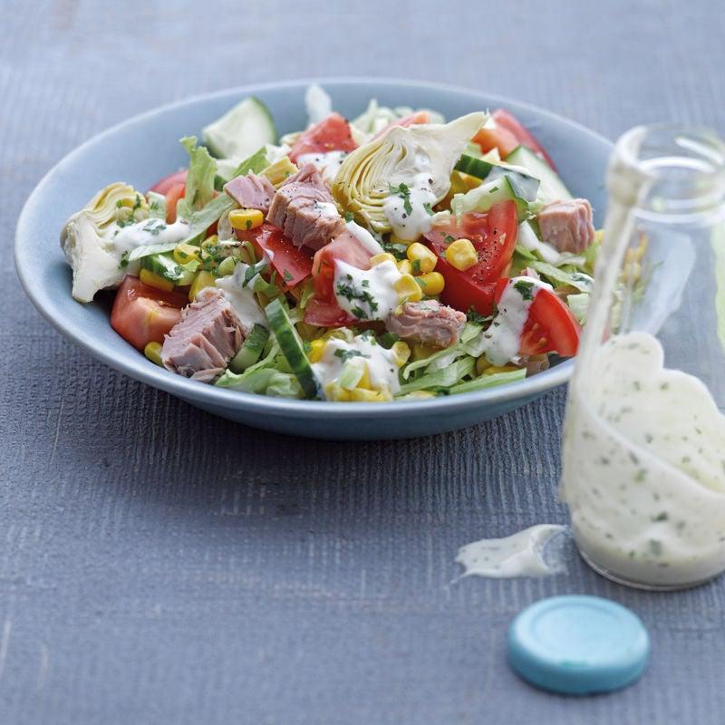 Photo de Salade de thon aux artichauts prise par WW