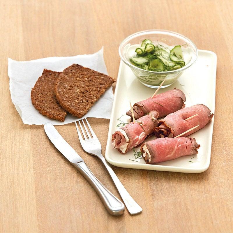 Photo de Roulades de roastbeef à la crème au raifort prise par WW
