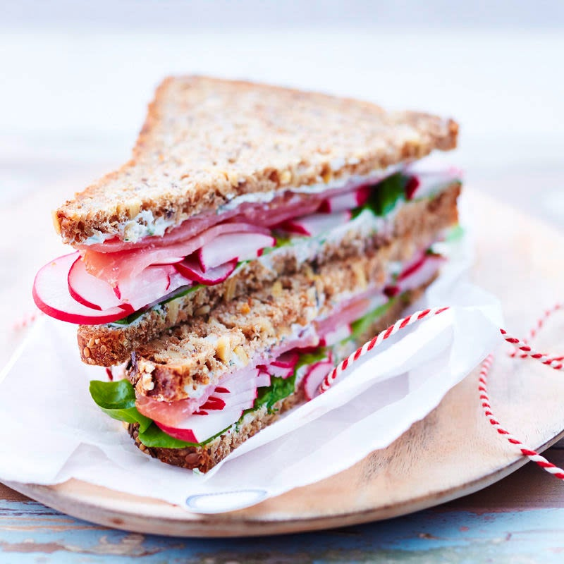 Foto Schinken-Radieschen-Sandwich von WW