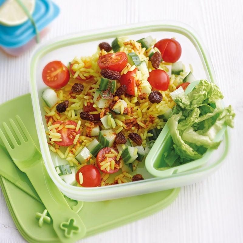 Photo de Salade de riz à l'orientale prise par WW